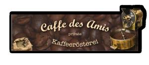 Caffe des Amis Logo Banner