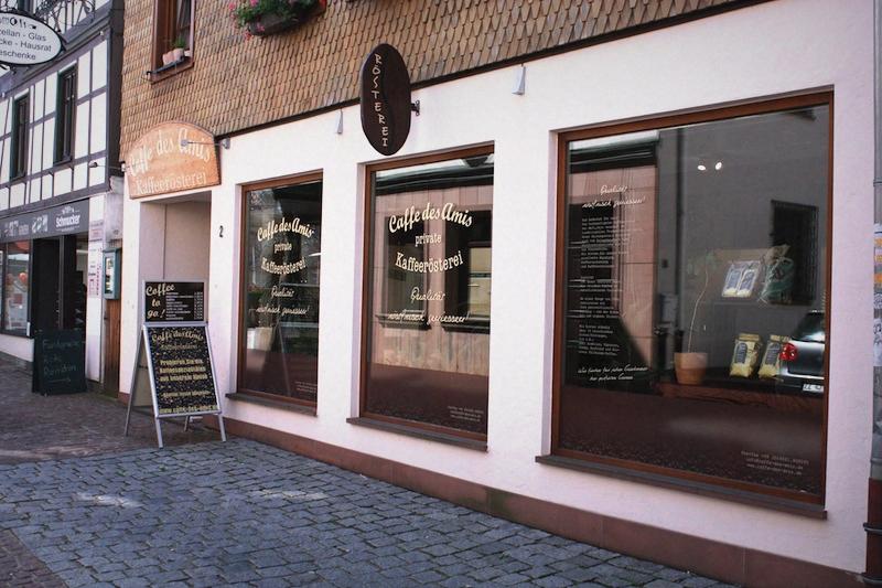 Caffe des Amis - Kaffeerösterei in Michelstadt