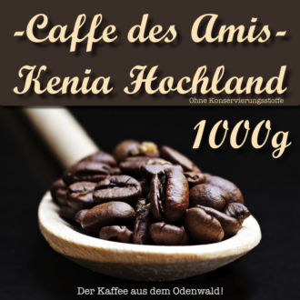 Caffe des Amis - Produktbild - Kenia Hochland - 1000g